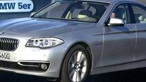 2014 BMW 5-Series facelift revealed via magazine print