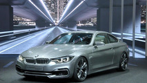 BMW 4-Series Coupe concept live in Detroit 14.01.2013