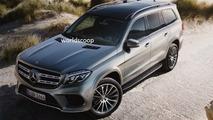 2016 Mercedes-Benz GLS leaked image