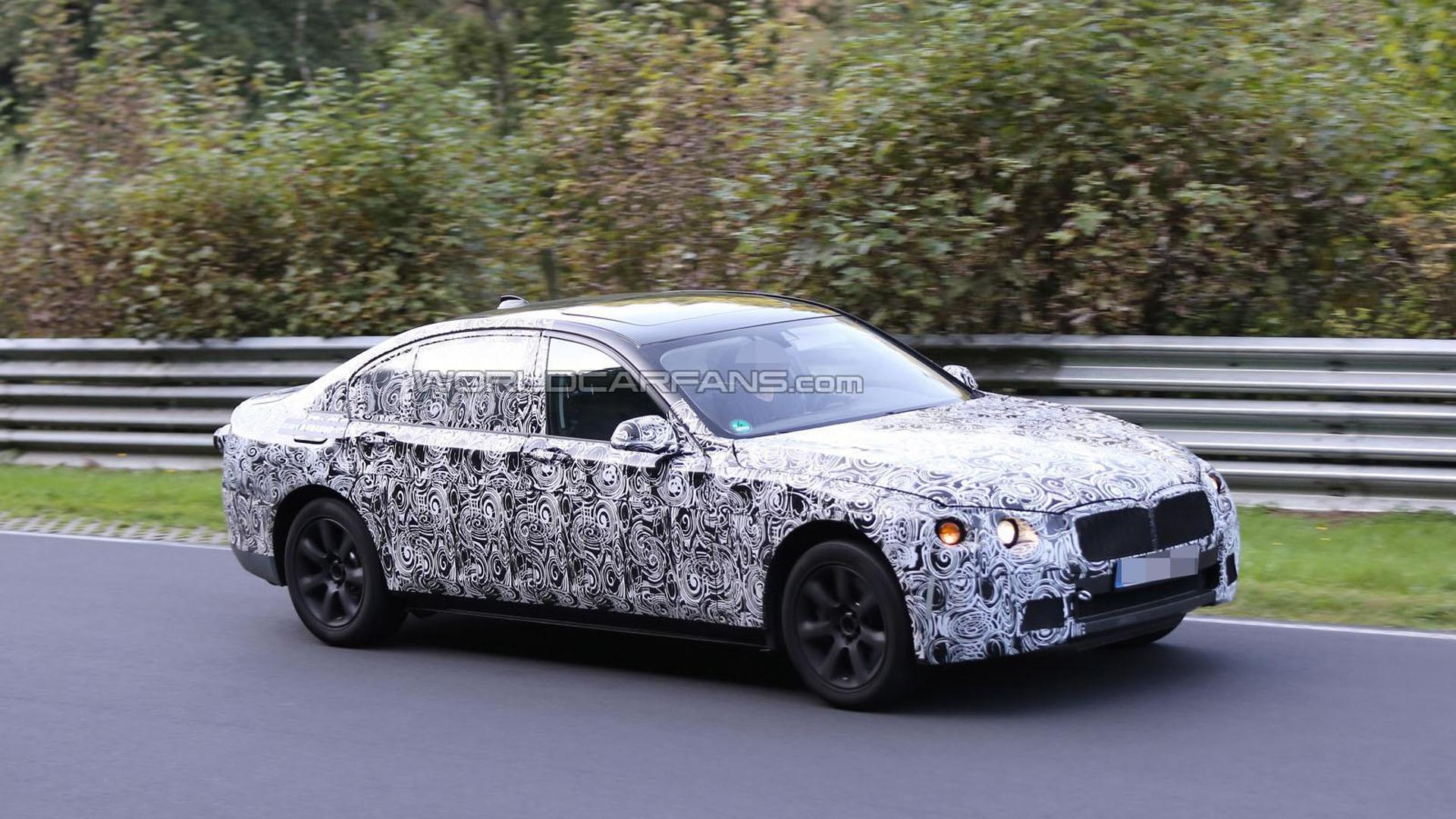 2015 BMW 7-Series tackles the Nurburgring  for the first time