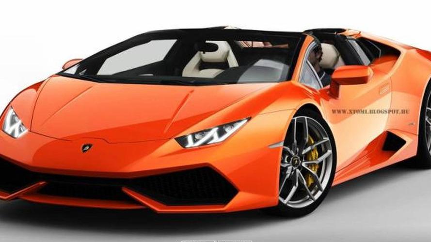 Lamborghini Huracan Roadster will reportedly debut in Geneva