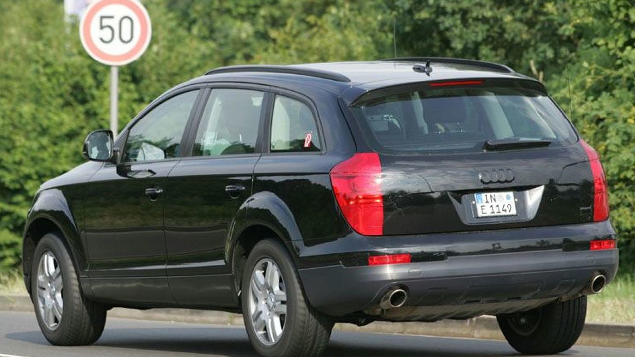 2006 Audi Q7 SUV Spy Photos