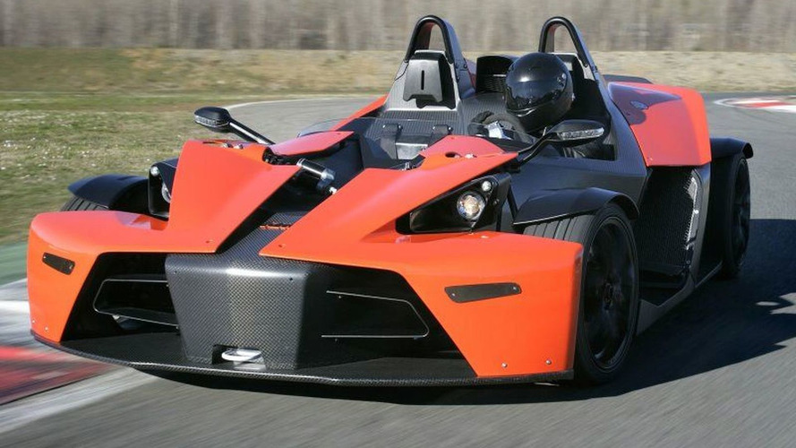 KTM X-Bow fires its bolt to North America in 2017