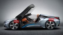 BMW i8 Spyder Concept photos leaked