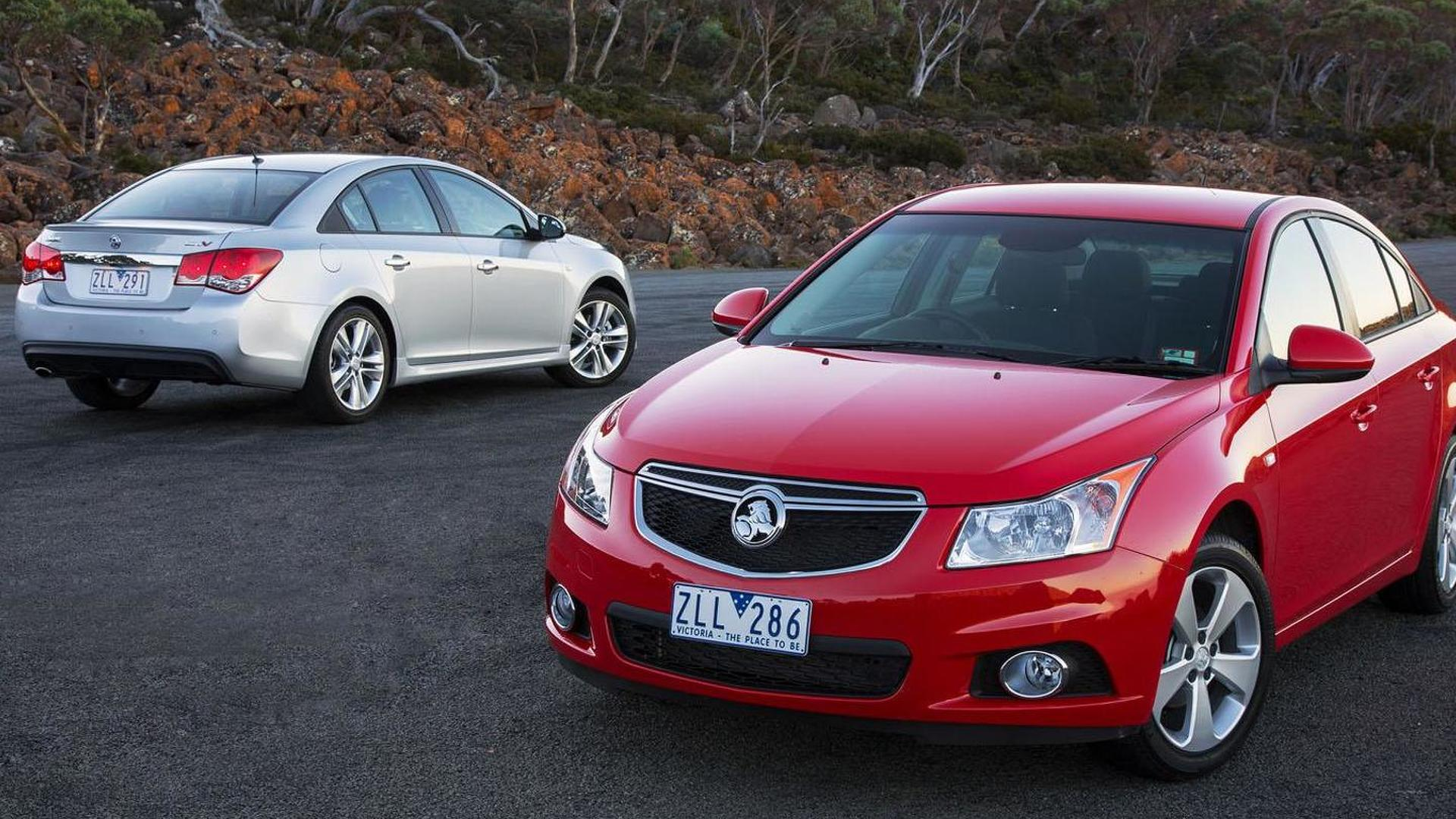 2014 Holden Cruze introduced, offers a new turbocharged engine