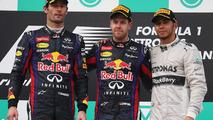 2013 Malaysian Grand Prix podium