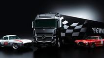 Mercedes 300SL/R and Ferrari 340M/C