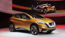 Nissan Resonance Crossover Concept live in Detroit 15.01.2013