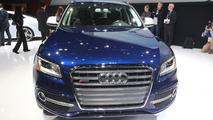 2013 Audi SQ5 TFSI live in Detroit 14.01.2013