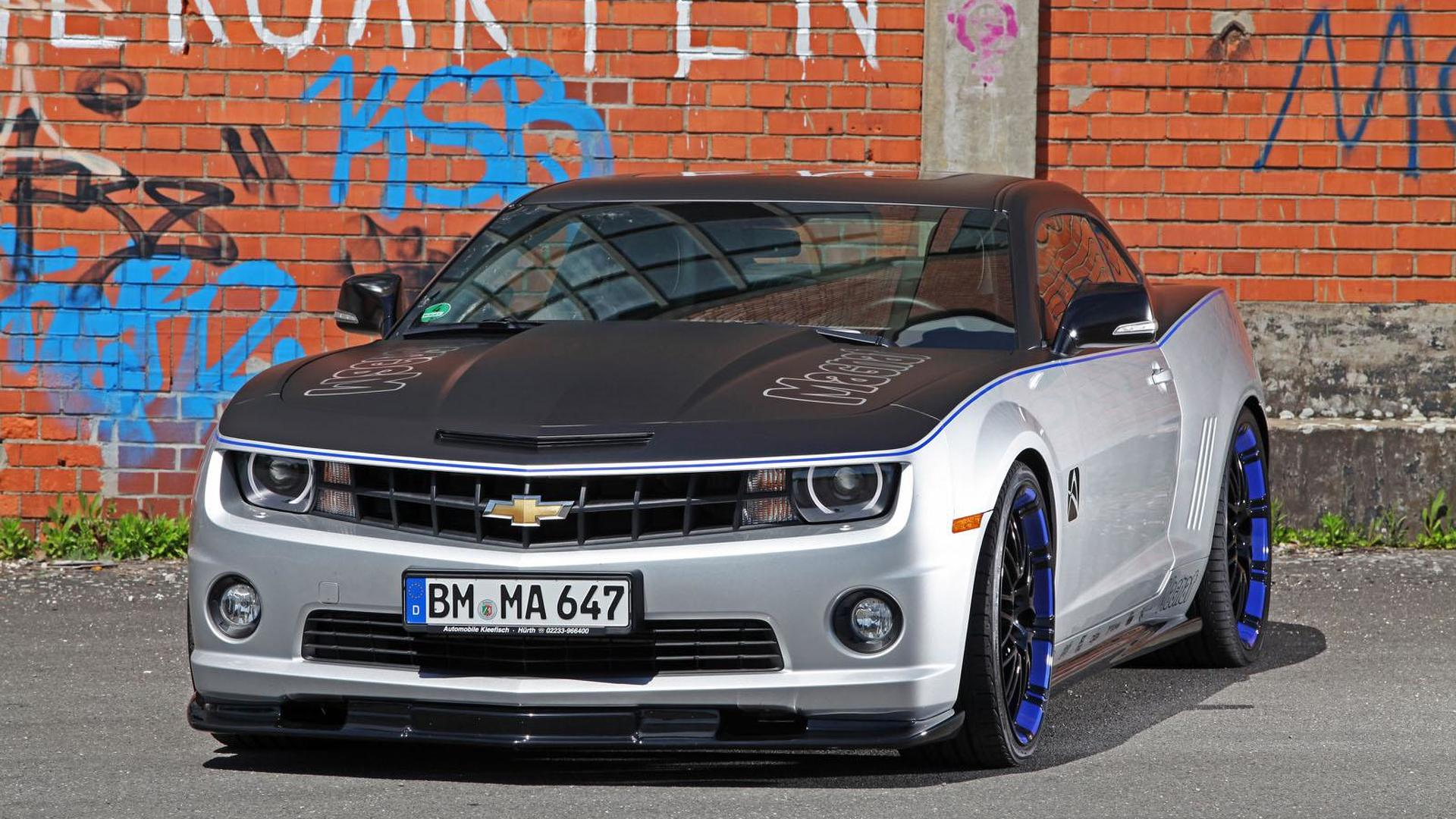 Chevrolet Camaro gets tuned by Wimmer RS and Audiovox