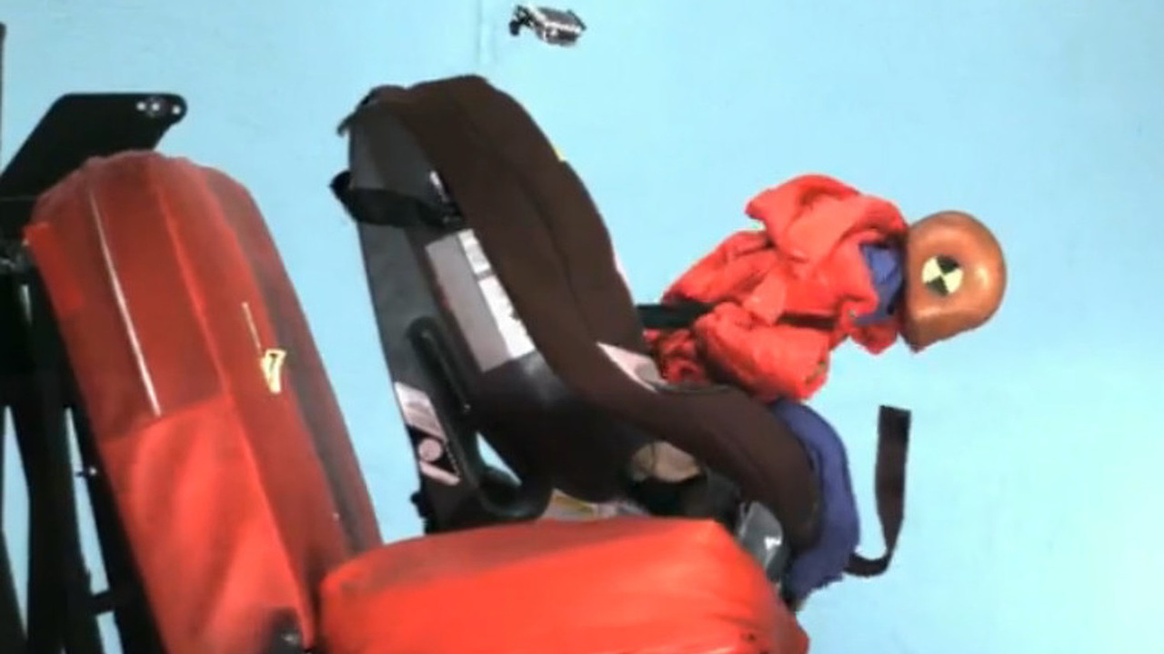 Car Seat crash test