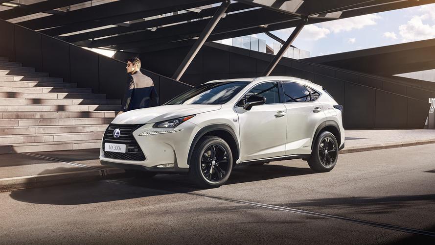 Lexus NX adds sporty trim model in Paris