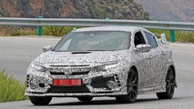 2018 Honda Civic Type R spy photos
