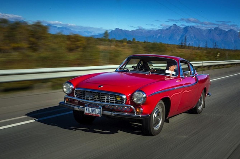 1966 Volvo P1800 logs 3 million miles