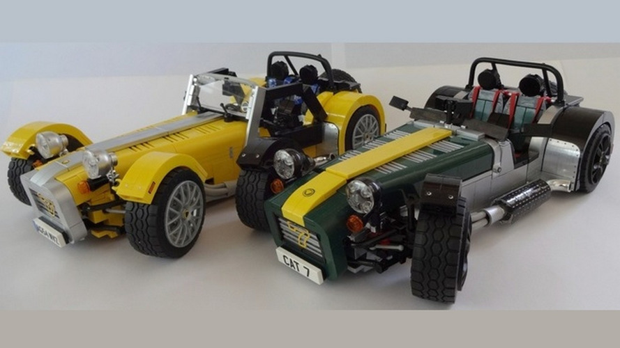 LEGO Caterham Super Seven set is coming [video]