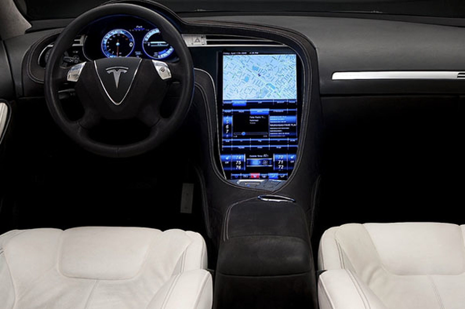 Cadillac and Tesla Bring the In-Car Technology Showdown to the Germans