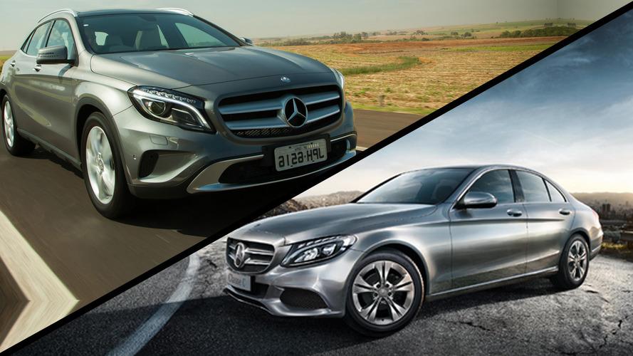 Briga em casa - Mercedes-Benz C 180 Avantgarde ou GLA 200 Advance?