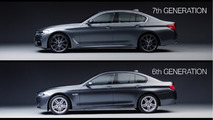 BMW 5 Series G30 and F10 comparison