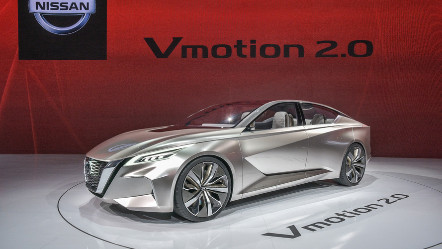 Nissan Vmotion 2.0 concept wears the face of things to come