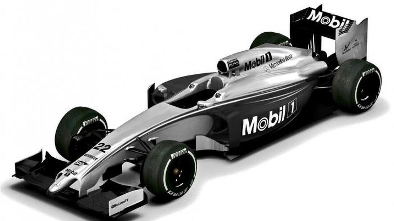 McLaren Mobil Melbourne livery