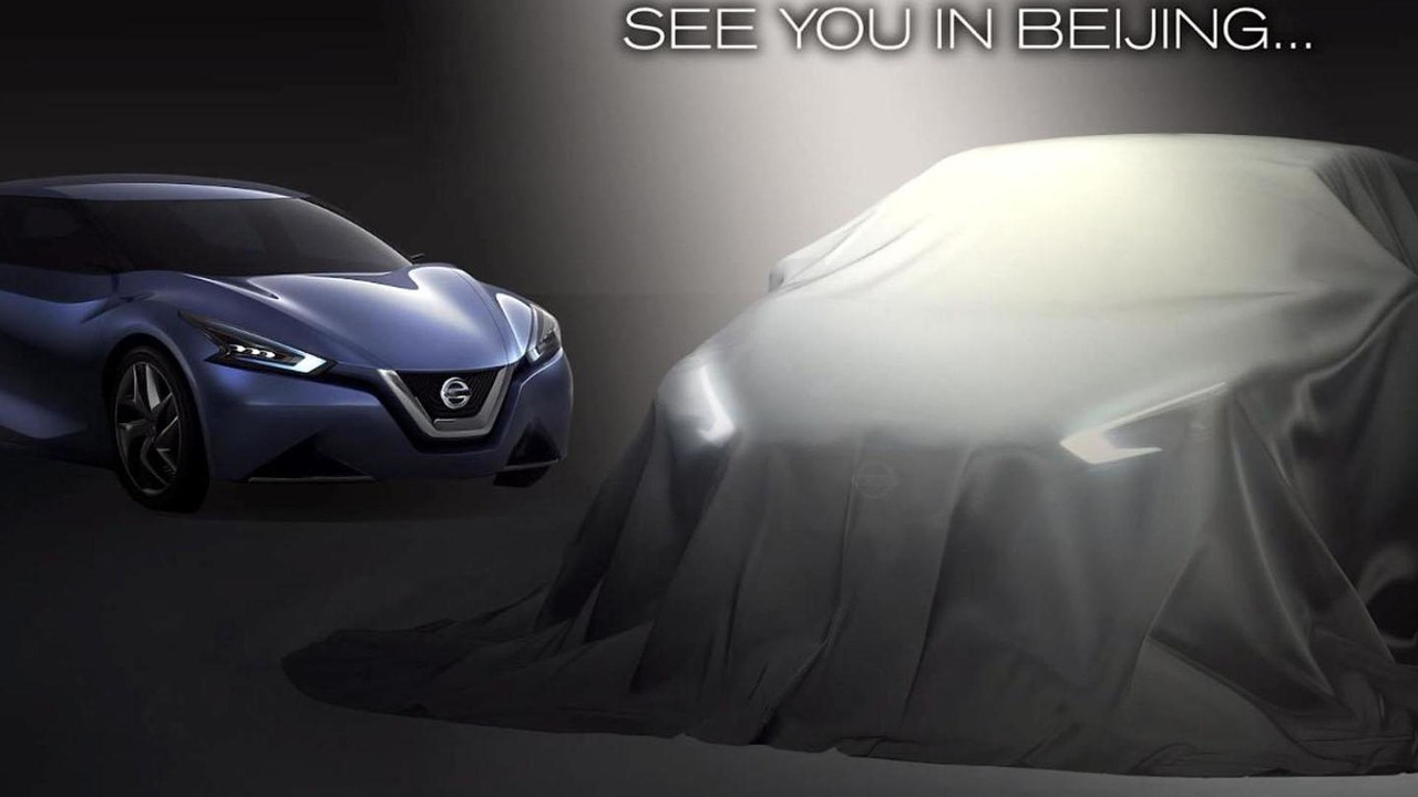 Nissan concept for Auto China 2014