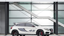 Mercedes GLA 45 AMG unveiled in Los Angeles, previews the production model [video]