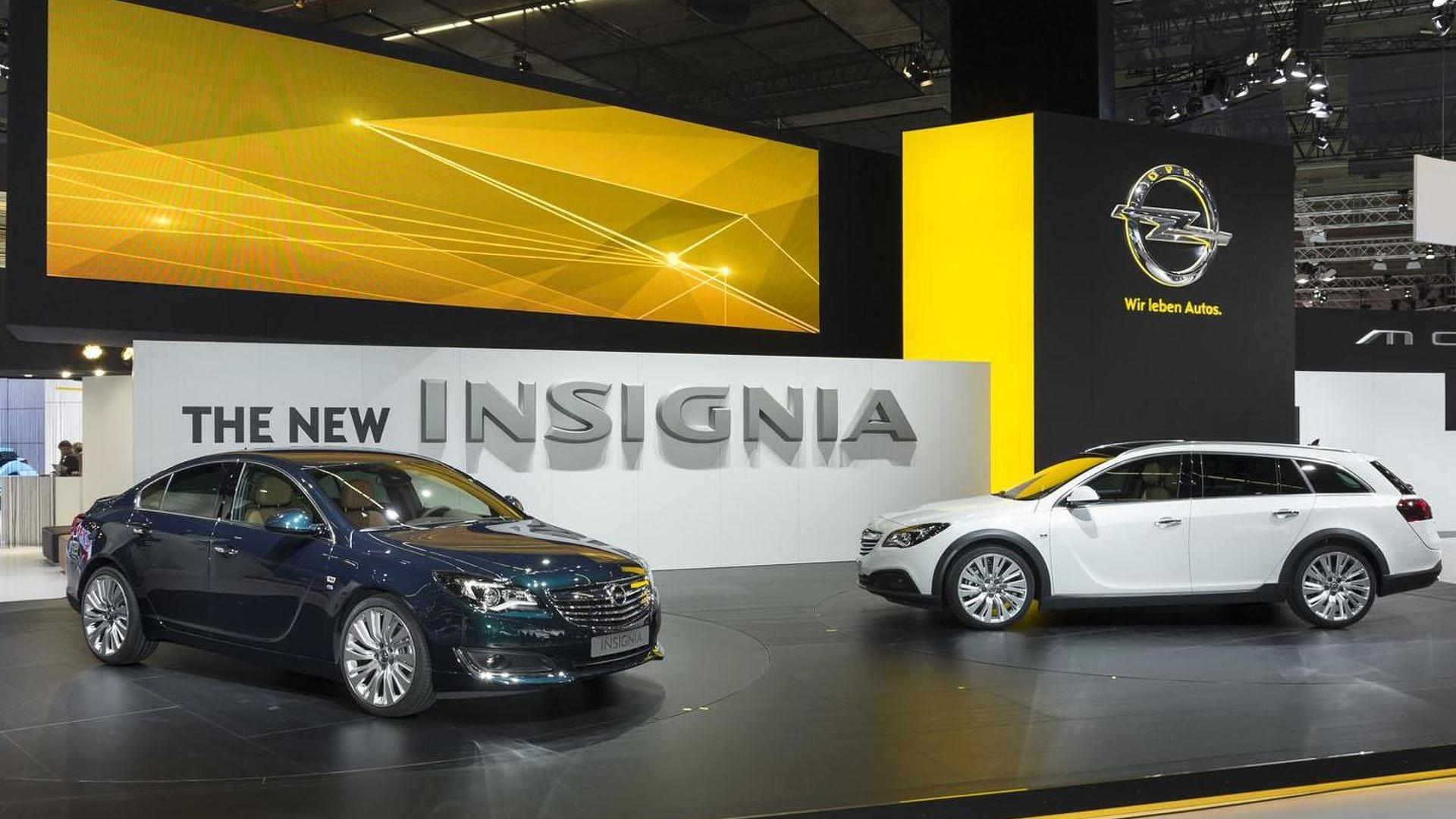 Opel Insignia, Insignia Country Tourer & Insignia OPC debut in Frankfurt