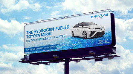 Toyota Mirai Billboards Will Literally Clean The Air