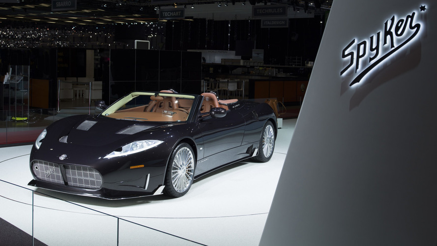 Genève 2017 – Spyker présente sa C8 Preliator Spyder et s'associe avec Koenigsegg