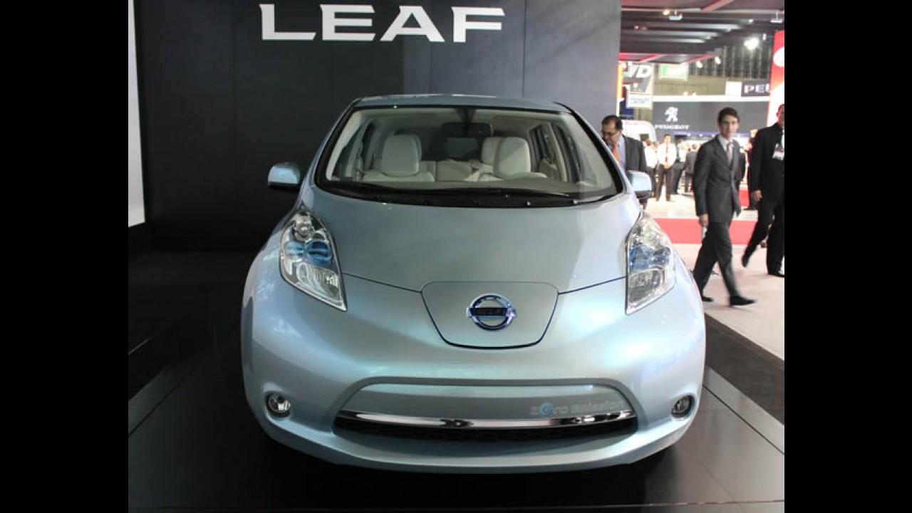 """Nissan Leaf é eleito o """"Carro Europeu do Ano 2011"""""""