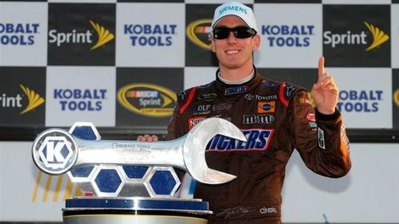 Kyle Busch gives Toyota their first NASCAR win