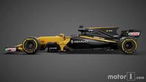 Formule 1 - Objectif top 5 pour l'équipe Renault avec la R.S.17