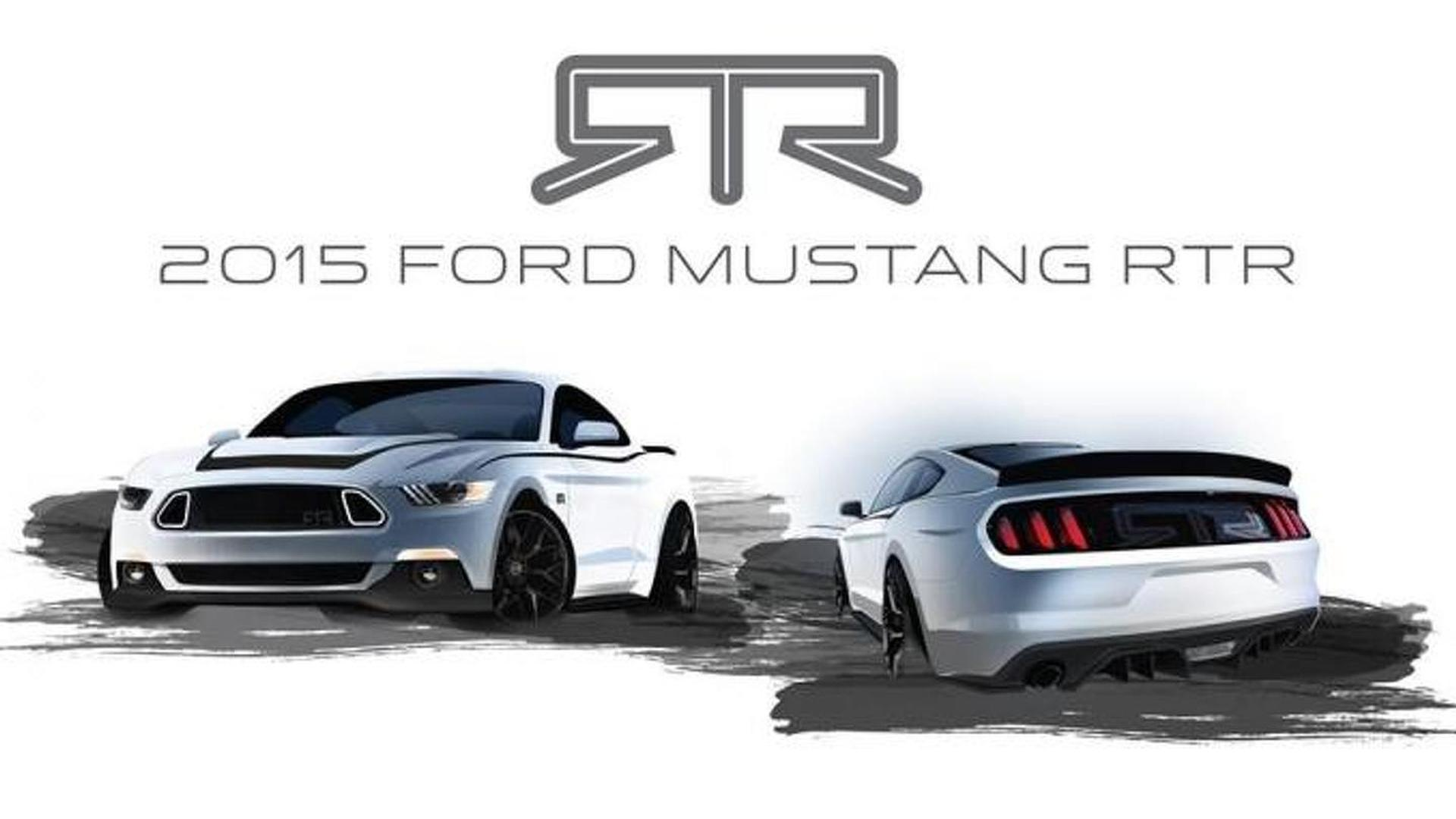 Ford Mustang RTR teased, goes on sale early next year