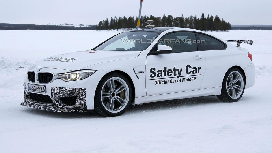 2016 BMW M4 GTS spied in Scandinavia