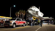 Toyota Tundra towing the Endeavour