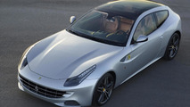 2013 Ferrari FF gets full-length panoramic roof