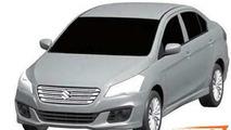 Suzuki Authentics production version leaked through patent sketches