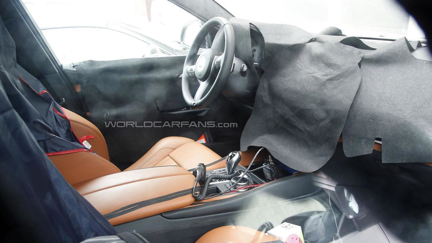 2015 BMW X6 M spied up close inside and out