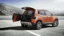 Volkswagen introduces an updated Taigun concept at Auto Expo in India