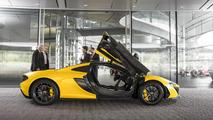 First production McLaren P1 21.10.2013