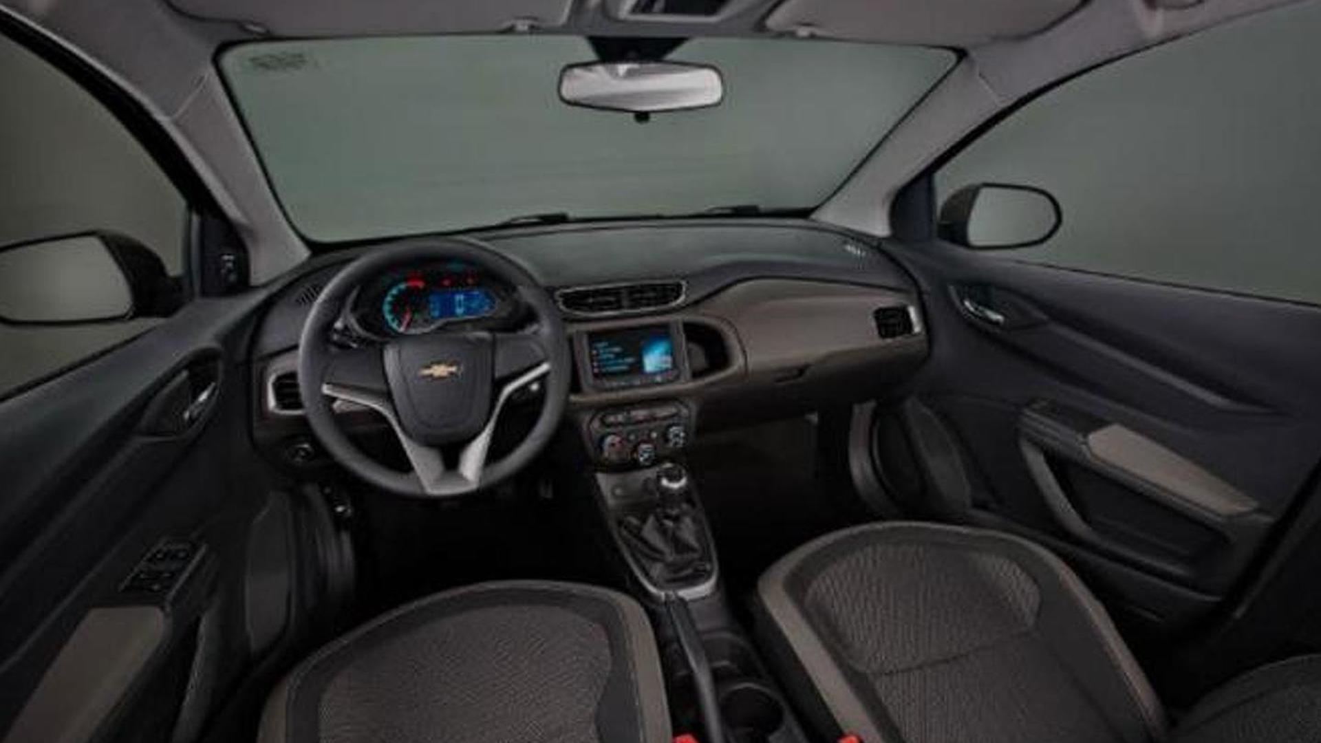 Chevrolet Prisma sedan launched in Brazil [video]