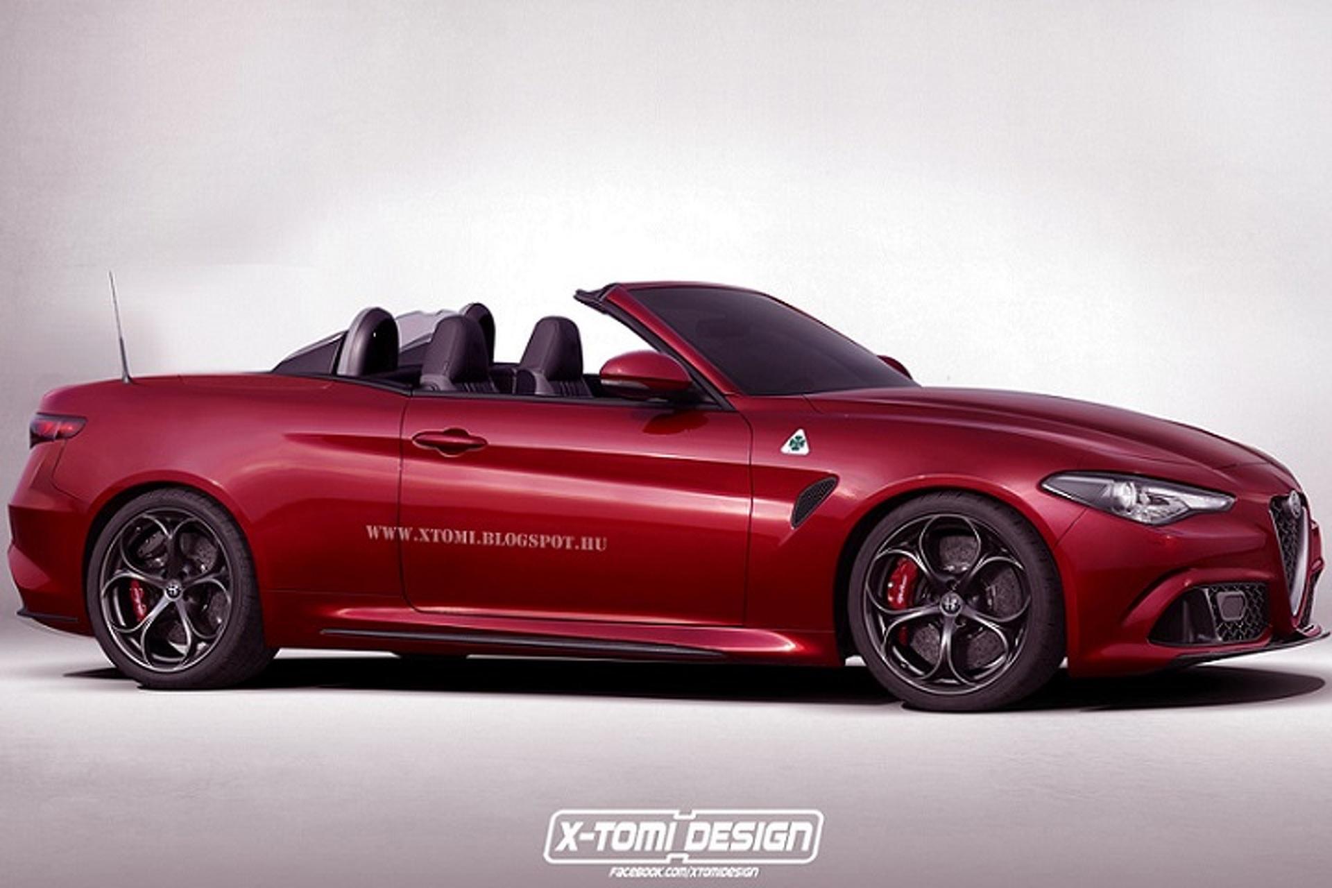 Please Alfa Romeo, Build This Gorgeous Giulia Spyder