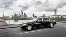 Mercedes-Maybach S600 Guard revealed with VR10 protection