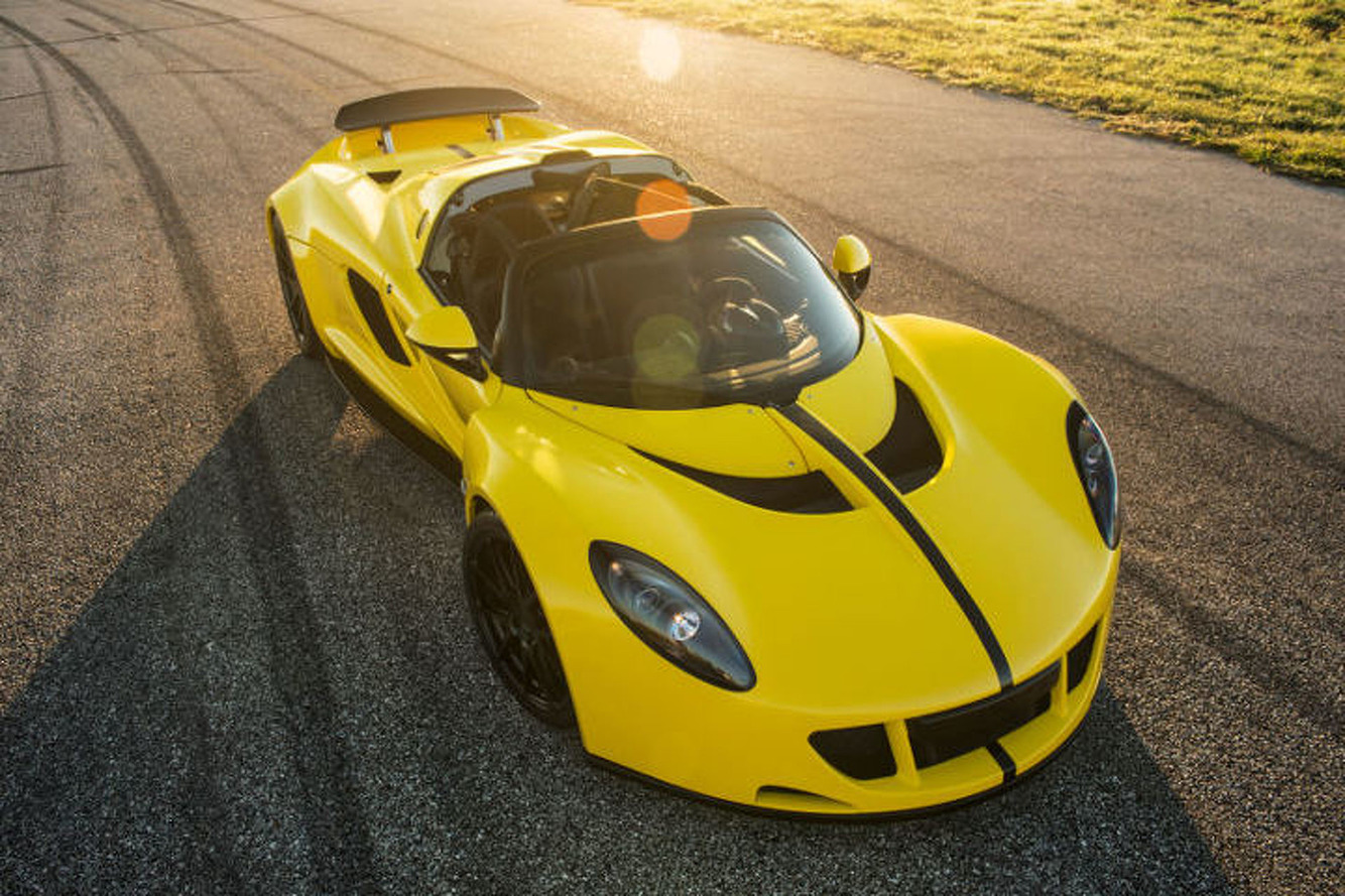 Hennessey Venom GT Spyder Puts out A Ridiculous 1451 Horsepower