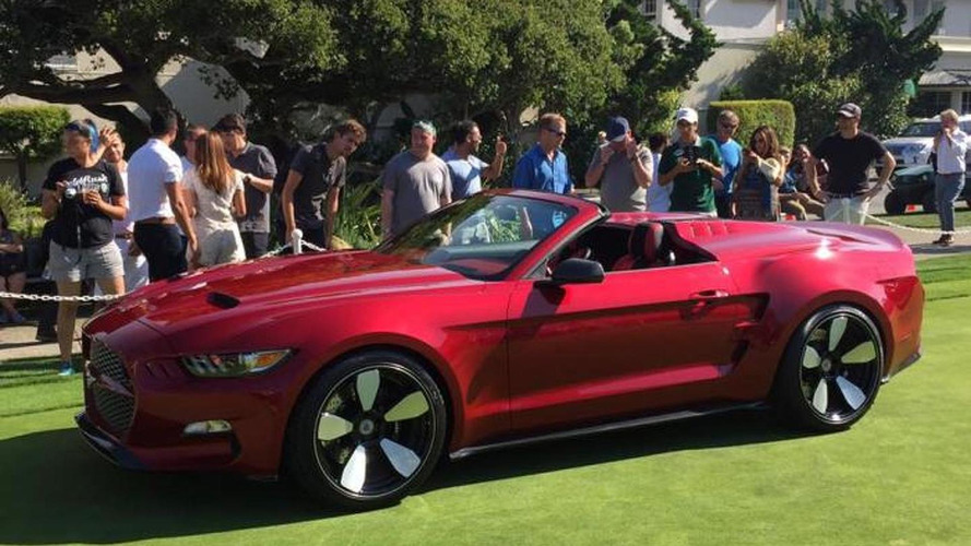 Galpin and Fisker unveil Rocket Speedster at Pebble Beach