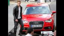 VÍDEO: Novo Audi A1 - Jogadores do Bayern de Munique testam o modelo