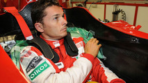 Giancarlo Fisichella F60 fitting and orientation at Ferrari