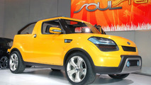 Kia Soulster Concept officially Unveiled in Detroit
