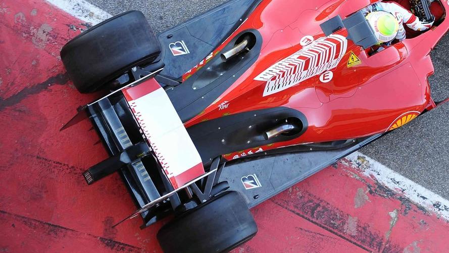 Ferrari F60's Illegal Exhaust Design Modified