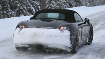 2012 Porsche Boxster Latest Winter Spy Photos - 19.02.2010